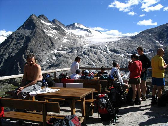 Foto: Andreas Koller / Wandertour / Cresta Croce und Cannone 149 (3330 m) / Blick vom Rif. Mandron auf den Vedretta della Lobbia / 15.05.2007 23:39:10