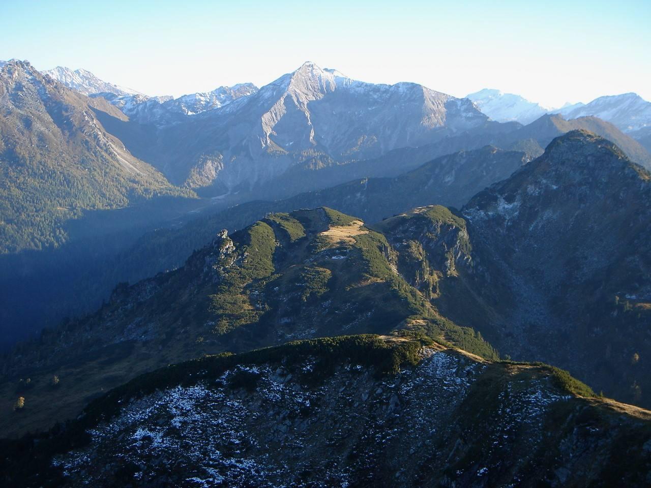 Foto: Manfred Karl / Wander Tour / Gipfelrunde von der Reiteralm auf den Schober (2133m) / Preuneggtal  - Kalkspitzen / 19.06.2007 05:57:09