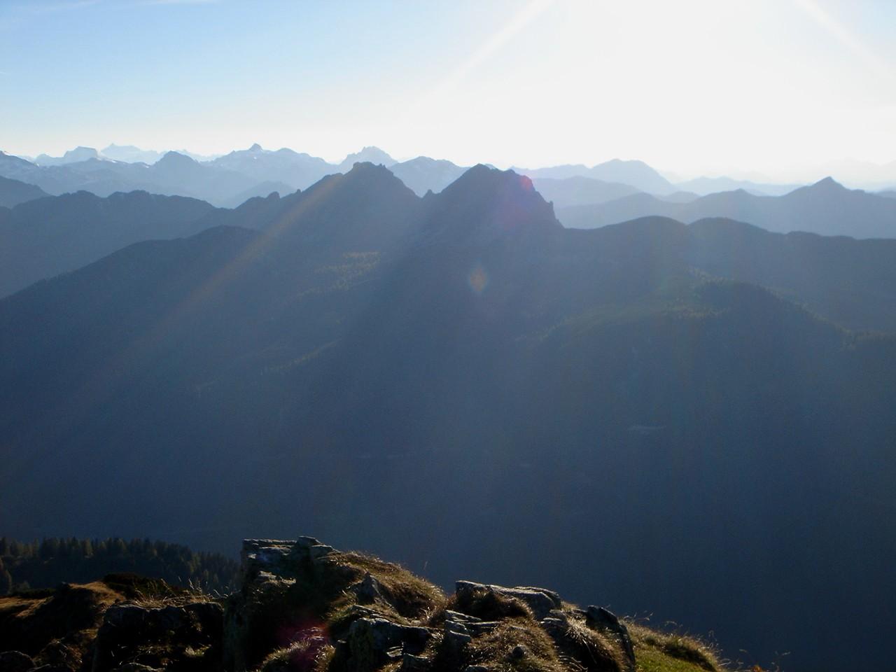 Foto: Manfred Karl / Wander Tour / Gipfelrunde von der Reiteralm auf den Schober (2133m) / Blick zu den Geißsteinen / 19.06.2007 05:56:39