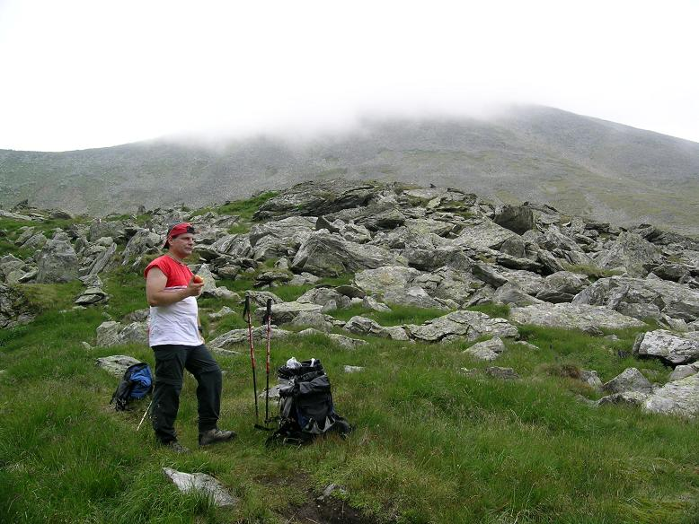 Foto: Andreas Koller / Wander Tour / Vom Prebersee auf das Roteck (2742 m) / Rast unter dem Rocteck / 09.05.2007 21:58:39