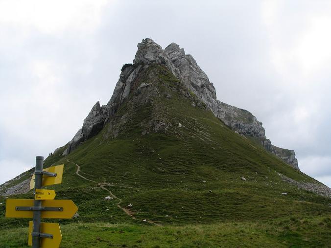 Foto: Andreas Koller / Wander Tour / Haidachstellwand und Schützensteig (2192 m) / Haidachstellwand vom Krahnsattel / 26.05.2007 13:46:47