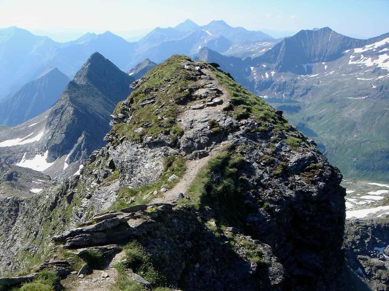 Foto: Manfred Karl / Wander Tour / Hochwildstelle-Überschreitung / Am luftigen Südgrat / 15.06.2007 22:54:52