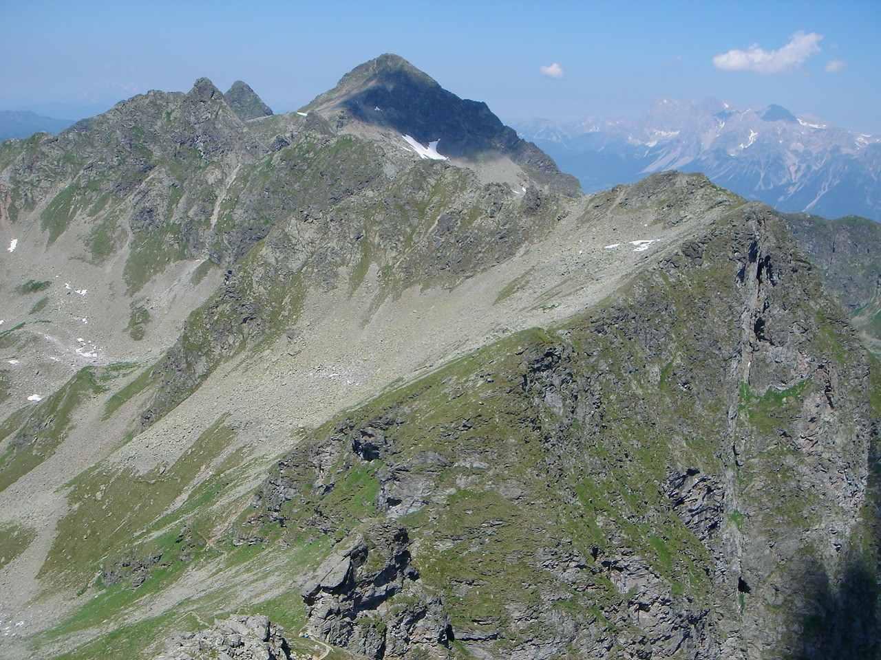 Foto: Manfred Karl / Wander Tour / Hochwildstelle-Überschreitung / Höchstein und Dachsteinmassiv / 15.06.2007 23:08:34