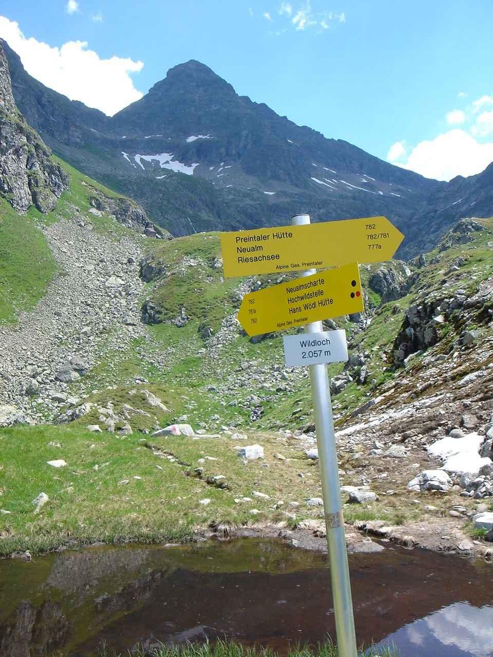 Foto: Manfred Karl / Wander Tour / Hochwildstelle-Überschreitung / 15.06.2007 23:09:41