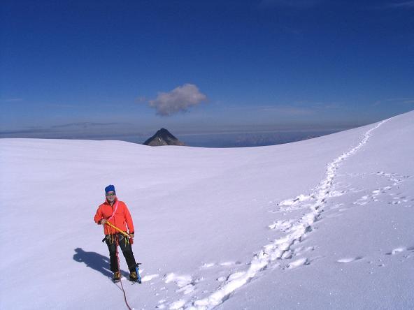 Foto: Andreas Koller / Wandertour / Über die Nordflanke auf den Großen Bärenkopf (3406 m) / Obere Bockkarscharte und Kitzsteinhorn (3203 m) / 02.06.2007 01:05:03