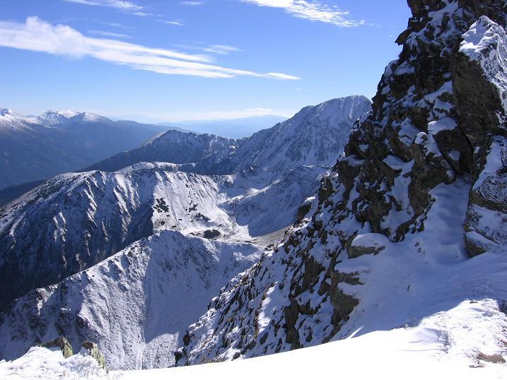 Foto: Andreas Koller / Wandertour / Von der Rottenmanner Hütte über den Dreisteckengrat zur Edelraute Hütte (2448 m) / Steiler Fels auf der Hochhaide / 03.06.2007 20:43:33