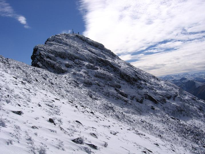 Foto: Andreas Koller / Wandertour / Von der Rottenmanner Hütte über den Dreisteckengrat zur Edelraute Hütte (2448 m) / Hochhaide / 03.06.2007 20:43:45