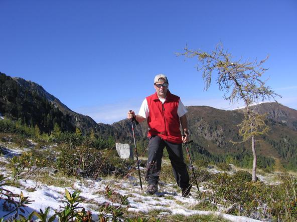 Foto: Andreas Koller / Wandertour / Von der Rottenmanner Hütte über den Dreisteckengrat zur Edelraute Hütte (2448 m) / Schöner Aufstieg / 03.06.2007 20:36:47