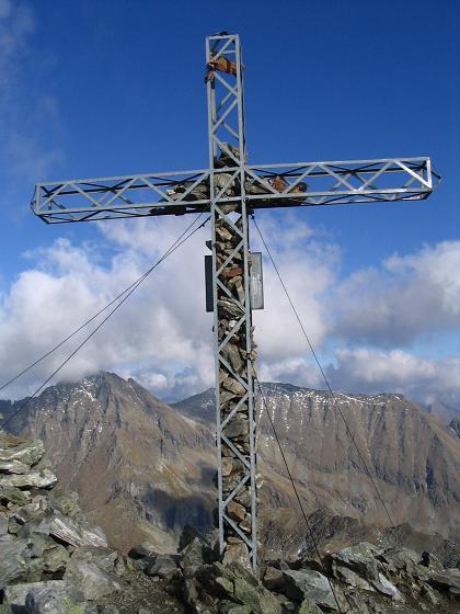 Foto: Andreas Koller / Wander Tour / Aus dem Lungau zum Klafferkessel und auf den Greifenberg (2618 m) / Greifenberg-Gipfel / 04.06.2007 23:22:43