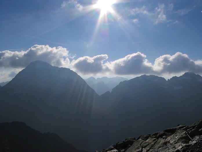 Foto: Andreas Koller / Wander Tour / Aus dem Lungau zum Klafferkessel und auf den Greifenberg (2618 m) / Der Hochgolling (2863 m) / 04.06.2007 23:21:44