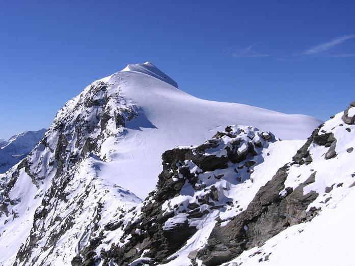 Foto: Andreas Koller / Wander Tour / Über den Sedlgrat auf den Kleinen- und Großen Grießkogel (3066 m) / Firngrat am Hocheiser (3204 m) / 08.06.2007 20:45:26