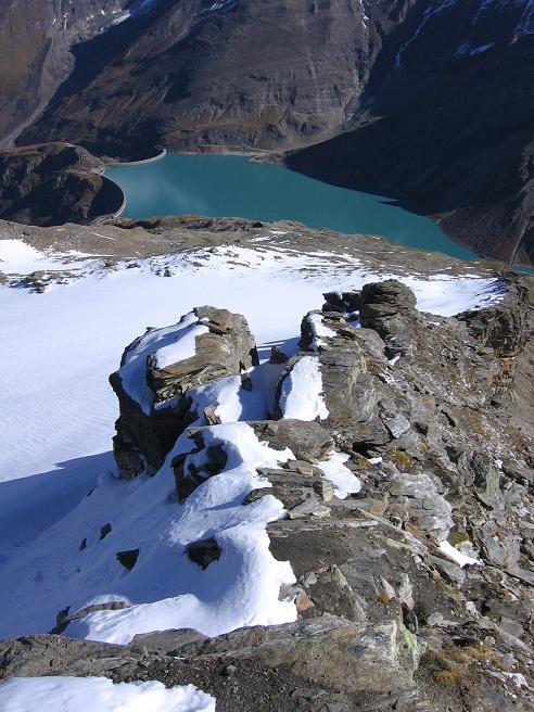 Foto: Andreas Koller / Wander Tour / Über den Sedlgrat auf den Kleinen- und Großen Grießkogel (3066 m) / Am Sedlgrat / 08.06.2007 20:47:26