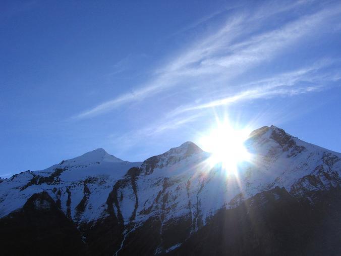 Foto: Andreas Koller / Wander Tour / Über den Sedlgrat auf den Kleinen- und Großen Grießkogel (3066 m) / Die Wiesbachhorn-Gruppe / 08.06.2007 20:42:32
