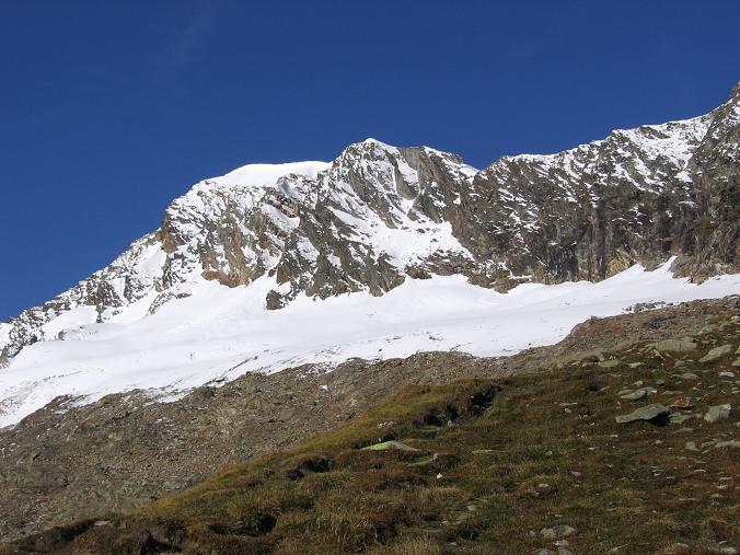 Foto: Andreas Koller / Wander Tour / Über den Sedlgrat auf den Kleinen- und Großen Grießkogel (3066 m) / Der Hocheiser (3204 m) / 08.06.2007 20:43:24