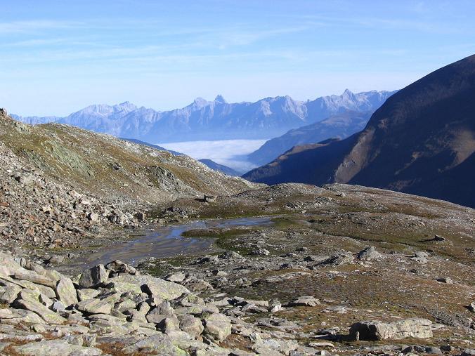 Foto: Andreas Koller / Wander Tour / Über den Sedlgrat auf den Kleinen- und Großen Grießkogel (3066 m) / Blick nach N ins Steinerne Meer / 08.06.2007 20:43:40