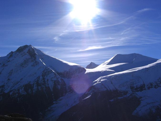 Foto: Andreas Koller / Wander Tour / Über den Sedlgrat auf den Kleinen- und Großen Grießkogel (3066 m) / Klockerin (3419 m), Hohe Dock (3348 m) und Großer Bärenkopf (3406 m) / 08.06.2007 20:44:23