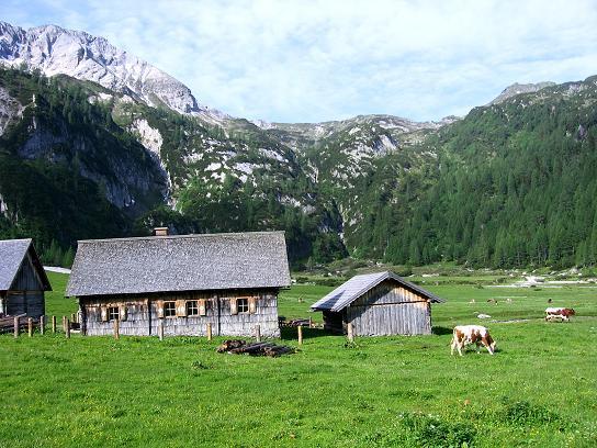 Foto: Andreas Koller / Wander Tour / Drei-Hütten-Tour in den Schladminger Tauern (2453 m) / Die Ursprungalm / 11.06.2007 21:36:26