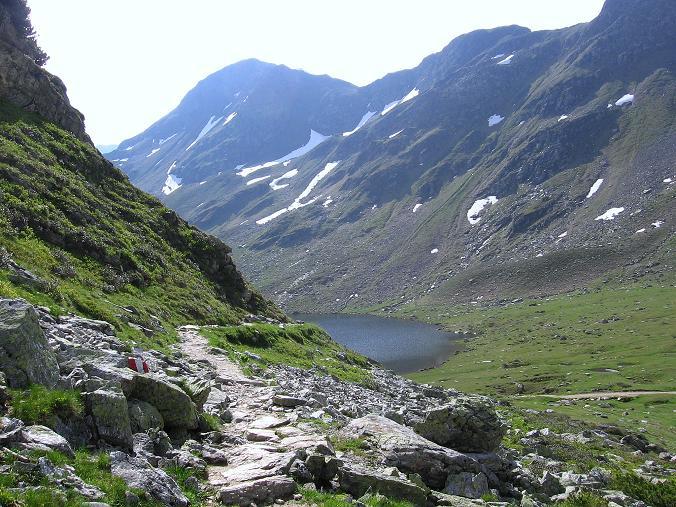 Foto: Andreas Koller / Wander Tour / Drei-Hütten-Tour in den Schladminger Tauern (2453 m) / Der Obere Giglachsee / 11.06.2007 21:36:59