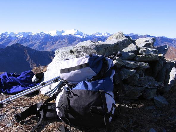 Foto: Andreas Koller / Wander Tour / Alexander-Enzinger-Weg und Tristkogel (2642 m) / Am Tristkogel-Gipfel / 02.06.2007 10:40:14