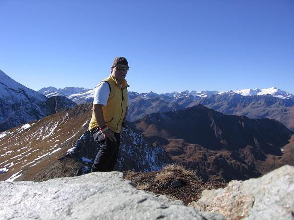 Foto: Andreas Koller / Wander Tour / Alexander-Enzinger-Weg und Tristkogel (2642 m) / Am Tristkogel mit Blick gegen W / 02.06.2007 10:41:57