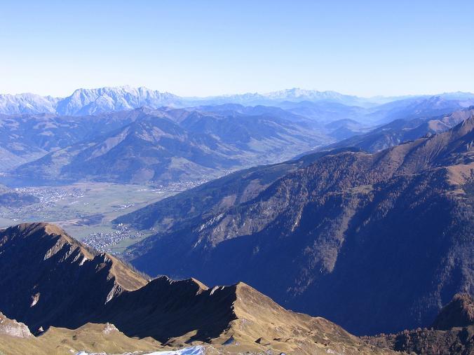 Foto: Andreas Koller / Wander Tour / Alexander-Enzinger-Weg und Tristkogel (2642 m) / Blick nach NO auf Hochkönig (2943 m) und Dachstein (2996 m) / 02.06.2007 10:42:33