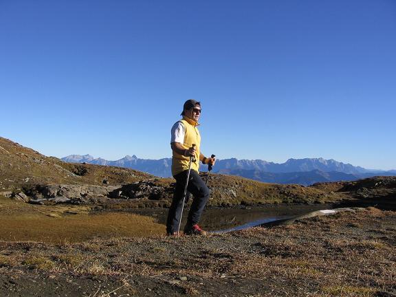 Foto: Andreas Koller / Wander Tour / Alexander-Enzinger-Weg und Tristkogel (2642 m) / Seenauge im Zustieg zum Enzingerweg / 02.06.2007 10:37:38