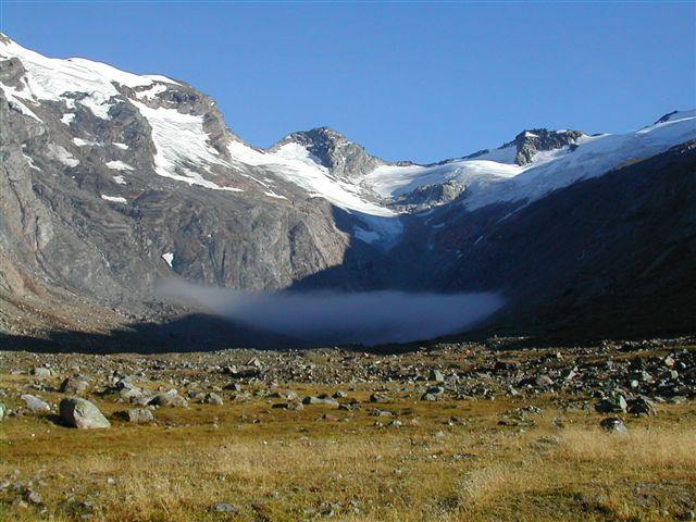 Foto: Berghase / Wander Tour / In 5 Tagen durch die Venedigergruppe und die Östlichen Zillertaler Alpen / Zustieg zum Maurerkees / 29.12.2006 11:27:51