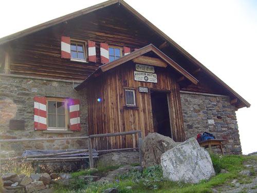 Foto: Andreas Ehrmann / Wander Tour / Furgler / Die urige Ascher Hütte / 17.03.2007 18:45:29