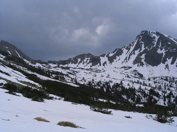 Foto: Andreas Koller / Wandertour / Aus dem Bärntal auf den Großen Grießstein (2337m) / Blick auf die Gamskögel / 22.04.2007 21:26:16
