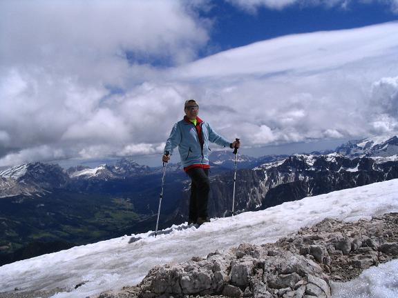Foto: Andreas Koller / Wander Tour / Aus dem Villnösstal auf den Peitlerkofel (2875m) / Am Kleinen Peitler / 22.04.2007 20:59:50