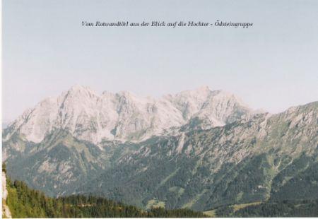 Foto: Rucki / Wander Tour / Von Wald am Schoberpaß auf den Leobner / Aussicht auf die Gesäuseberge / 24.02.2007 13:13:51