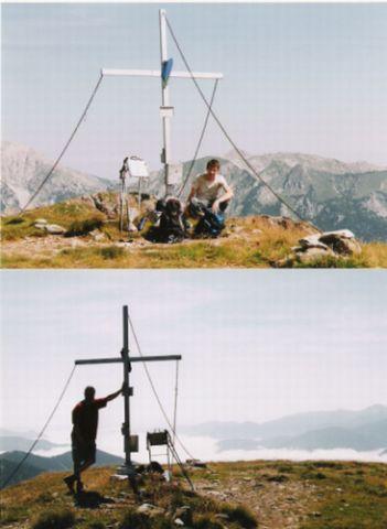 Foto: Rucki / Wander Tour / Von Wald am Schoberpaß auf den Leobner / Gipfelrast / 24.02.2007 13:13:29