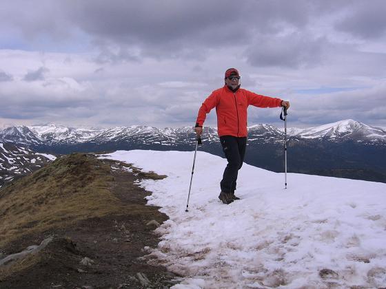 Foto: Andreas Koller / Wander Tour / Lattersteig und sechs Gipfel (2320 m) / Gipfelrast am Schoberriegel / 22.04.2007 22:14:03