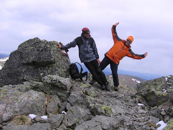 Foto: Andreas Koller / Wander Tour / Lattersteig und sechs Gipfel (2320 m) / Übergang zur Lattersteighöhe / 22.04.2007 22:15:31
