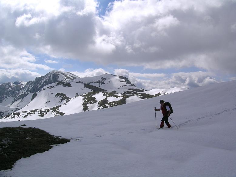 Foto: Andreas Koller / Wander Tour / Durch das Seetal ins Herz des Hochschwabs (2277 m) / Querung zum Wetterkogel / 22.04.2007 22:39:47