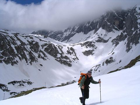 Foto: Andreas Koller / Wander Tour / Durch das Seetal ins Herz des Hochschwabs (2277 m) / Aufstieg zum Schiestl Haus / 22.04.2007 22:36:30