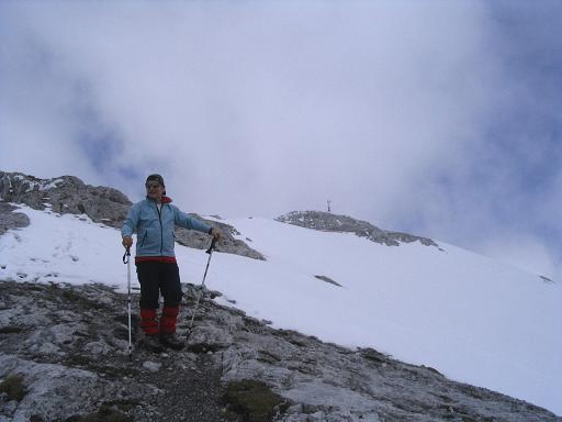 Foto: Andreas Koller / Wander Tour / Durch das Seetal ins Herz des Hochschwabs (2277 m) / Die letzten Meter auf die Eismauer / 22.04.2007 22:37:02