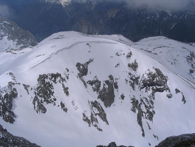 Foto: Andreas Koller / Wandertour / Durch das Seetal ins Herz des Hochschwabs (2277 m) / Tief verschneites Hochschwabmassiv am 11.06.2006 / 22.04.2007 22:37:29