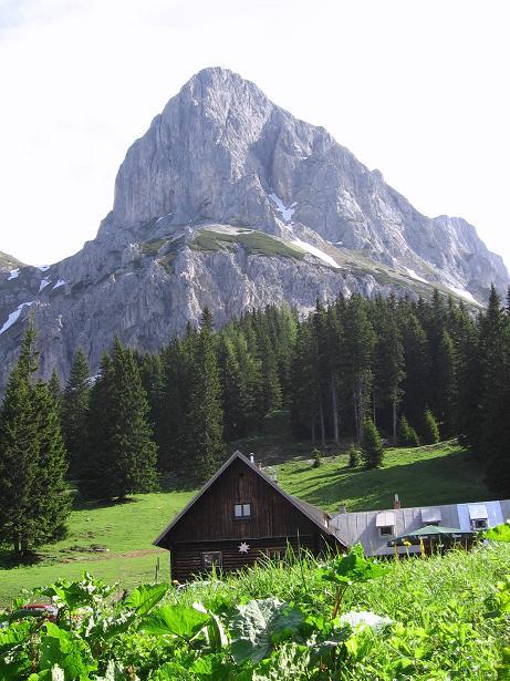 Foto: Andreas Koller / Wander Tour / Riffel und Rosskarsteig (2106 m) / Oberst Klinke Hütte und Kalbling / 22.04.2007 23:03:41