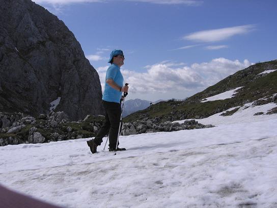Foto: Andreas Koller / Wander Tour / Riffel und Rosskarsteig (2106 m) / Im Gruberach / 22.04.2007 23:04:19