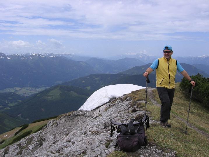Foto: Andreas Koller / Wander Tour / Riffel und Rosskarsteig (2106 m) / Übergang zum Kreuzkogel / 22.04.2007 23:04:41