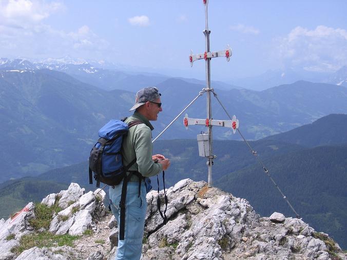 Foto: Andreas Koller / Wander Tour / Riffel und Rosskarsteig (2106 m) / Am Kreuzkogel / 22.04.2007 23:04:55