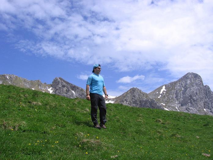 Foto: Andreas Koller / Wander Tour / Riffel und Rosskarsteig (2106 m) / Abstieg ins Rosskar / 22.04.2007 23:05:54