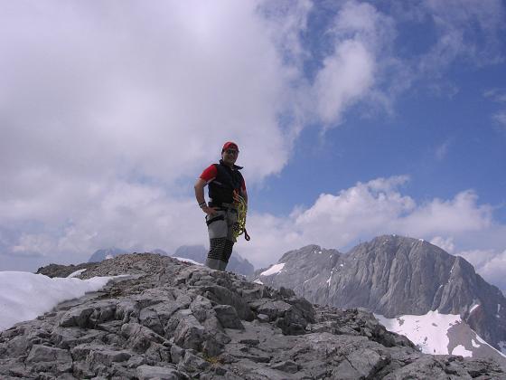 Foto: Andreas Koller / Wandertour / Die Eselstein - Runde (2667 m) / Auf der Hohen Rams / 23.04.2007 14:08:34