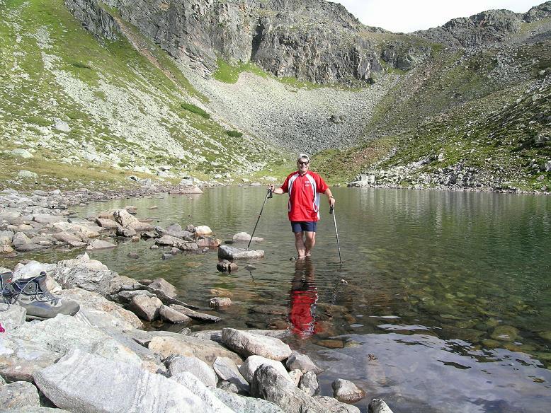Foto: Andreas Koller / Wander Tour / Rupprechtseck - Runde (2591 m) / Im Oberen Sauofensee / 29.04.2007 23:56:16
