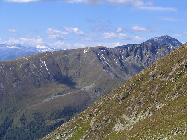 Foto: Andreas Koller / Wander Tour / Rupprechtseck - Runde (2591 m) / Blick nach W auf den Preber (2741 m) / 29.04.2007 23:53:22