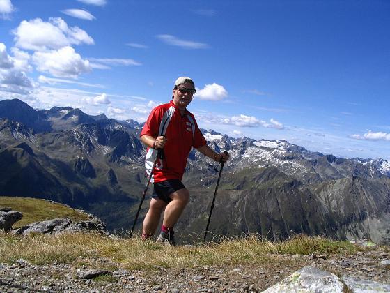 Foto: Andreas Koller / Wander Tour / Rupprechtseck - Runde (2591 m) / Die letzten Meter zum Gipfel des Rupprechtseck / 29.04.2007 23:54:40