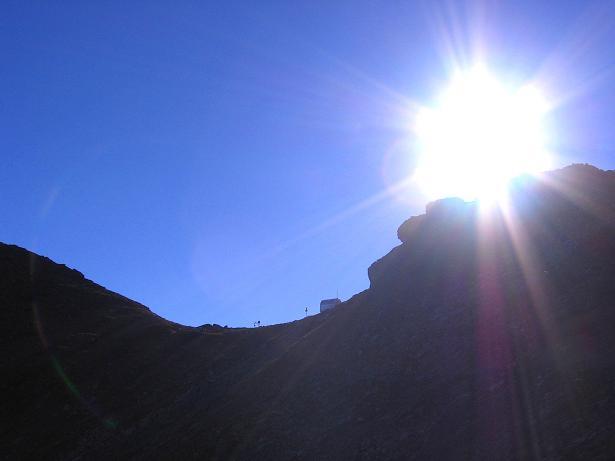 Foto: Andreas Koller / Wander Tour / Jamnighütte - Feldseekopf - Hagenerhütte (2864 m) / Abstieg von der Feldseescharte zum Hagener Weg / 27.04.2007 20:08:29