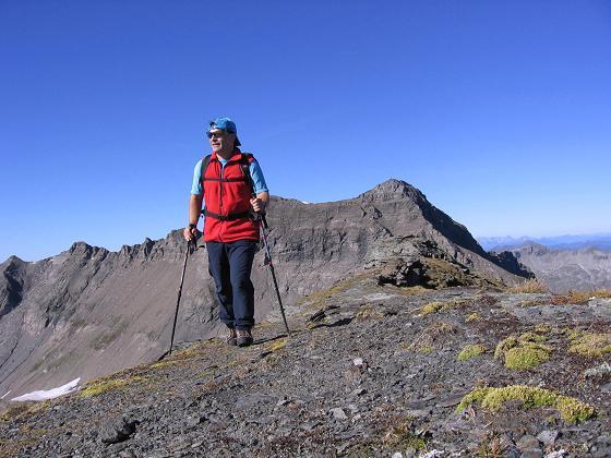 Foto: Andreas Koller / Wander Tour / Jamnighütte - Feldseekopf - Hagenerhütte (2864 m) / Am Feldseekopf / 27.04.2007 20:07:45