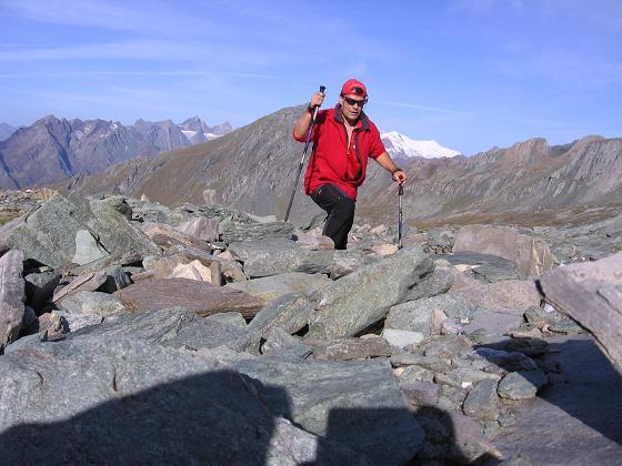 Foto: Andreas Koller / Wandertour / Ins Herz der Granatspitzgruppe (3232 m) / Aufstieg auf die Gradötzspitze / 09.05.2007 00:30:44